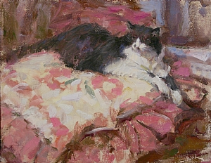Abby by Dan Beck Oil ~ 11 x 14