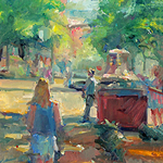 Jill Banks - Artists on Location: A Plein Air Painting Event
