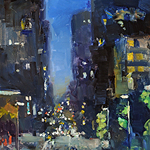Jill Banks - Baltimore Nocturne: A Plein Air Show