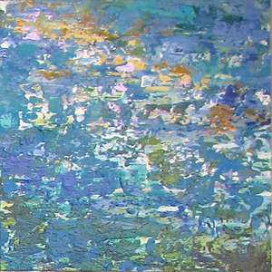Routhier Waves by Kate Taylor Acrylic ~ 12 x 12