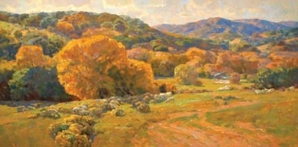 The Golden State by Kevin Macpherson Oil ~ 36 x 72