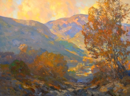 """Down Valley"" by Kevin Macpherson Oil ~ 36"" x 48"""