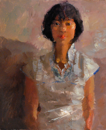 "Juan Juan by Kevin Macpherson Oil ~ 20"" x 16"""