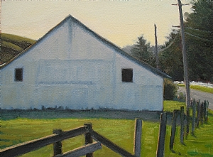 "Nicasio Morning by Wendy Schwartz Oil ~ 9"" x 12"""