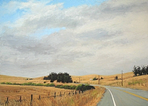 "West County by Wendy Schwartz Oil ~ 32"" x 44"""