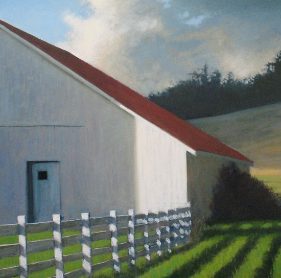 In The Silo's Shadow - Oil