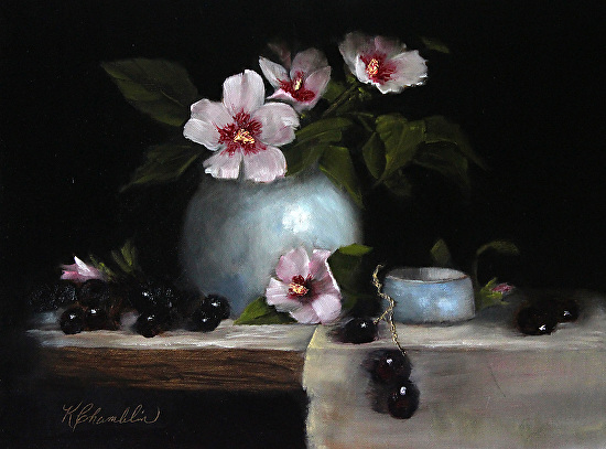 Rose Of Sharon II - Oil