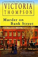 Victoria Thompson - Murder On Bank Street by karen Chandler  ~  x