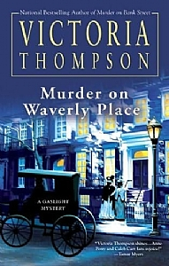 Victoria Thompson - Murder On Waverly Place by karen Chandler  ~  x