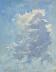 Cloud Study by Susan Gutting