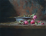 Three Roses by David Riedel  ~ 11 x 15