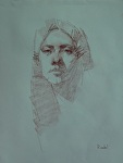 Portrait Drawing by David Riedel  ~ 18 x 14