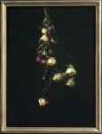 Hanging Dried Roses by David Riedel Oil ~ 16 x 12