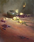 Dried Roses by David Riedel Oil ~ 20 x 16