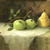 Green Apples &Yellow Pear