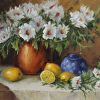 Daisies and Yellow Lemons