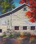Autumn Light  by Lisa Stauffer Pastel ~ 14 x 12