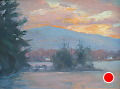 Sunrise by Barbara Lussier Oil ~ 6 x 8