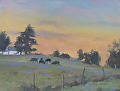 Twilight Time by Barbara Lussier Oil ~ 11 x 14