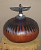 "EGYPTIAN VESSEL by Jane Boggs Gourd Art ~ 12"" x 20"""