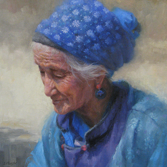 The Beauty of Her Years - Oil