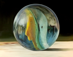 "Michael's Marble by Sally Tharp Oil ~ 40"" x 50"""