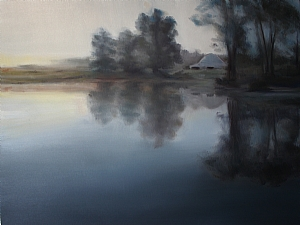 "Early Morn by Sally Tharp Oil ~ 18"" x 24"""