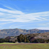 Santa Ynez Mts from Wilcox Property