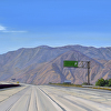 Interstate 10, San Gorgonio Pass
