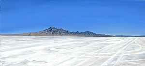 "Bonneville Salt Flats by Mary-Austin Klein Oil ~ 6"" x 11"""