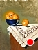 "Blue Bowl With Clementines by Rey Ford oil on board ~ 14"" x 11"""