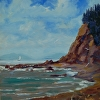 Bishop`s Beach,Homer.Ak. by Don Kolstad Oil ~ 12 x 10