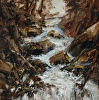 Hope Falls by Don Kolstad Oil ~ 10 x 8
