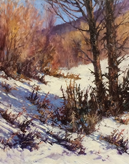 Winters Light - Oil
