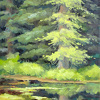 Quiet Water/ Plein Air