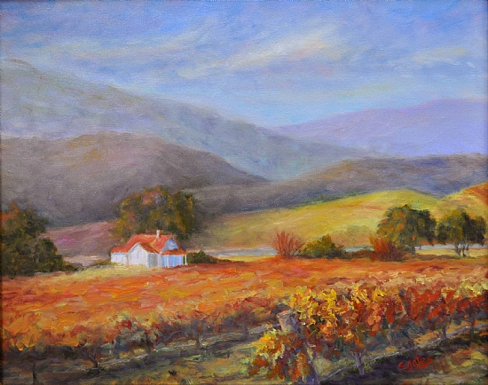 Napa Morning - Oil