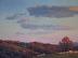 Hills at Sunset by Flora Pinkham