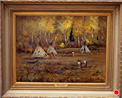 Spirit of the People by Bill Mittag Oil ~ 18 x 24