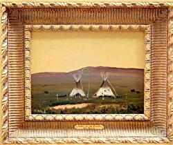 Spirit of the Prairie - Available thru Gallery by Bill Mittag Oil ~ 9 x 12
