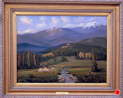 VOICES OF THE MOUNTAINS  - SOLD thru gallery by Bill Mittag Oil ~ 18 x 24