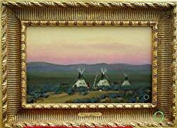 SPIRIT OF THE PLAINS - available thru gallery by Bill Mittag Oil ~ 10 x 16