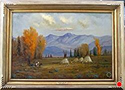 The Pride of Their Time by Bill Mittag Oil ~ 24 x 36
