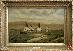 THE GOOD PRAIRIE by Bill Mittag Oil ~ 14 x 22
