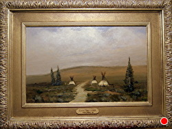 CLOSING THEIR JOURNEY  SOLD by Bill Mittag Oil ~ 14 x 22
