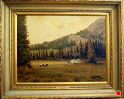 Traditions of Their Times  -SOLD-thru gallery by Bill Mittag Oil ~ 18 x 24