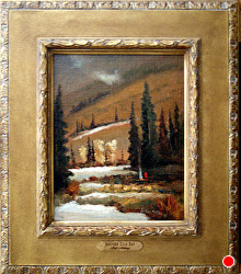 Another Cold Day by Bill Mittag Oil ~ 12 x 15