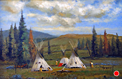 Under Western Skies oil on linen by Bill Mittag Oil ~ 12 x 18