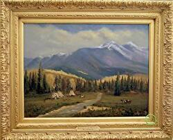 Brothers of the Mountains - available thru gallery by Bill Mittag Oil ~ 18 x 24