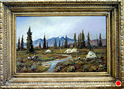 Season of Plenty Season of Plenty  oil on linen by Bill Mittag Oil ~ 14 x 22