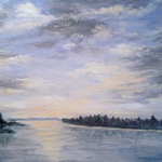 Christine Molitor Johnson - National Association of Women Artists  - 'Joyous Light'